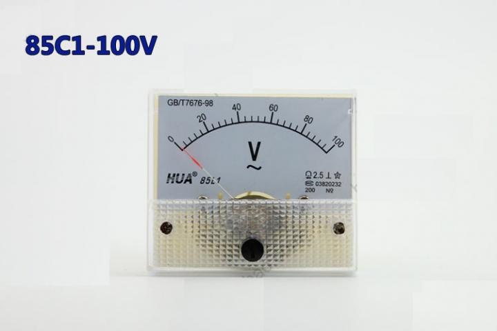 Vôn kế AC 85L1 100V
