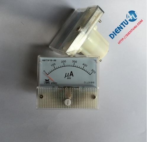 Ampe kế DC 85C1 500uA