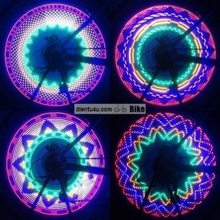 led tạo hình bánh xe