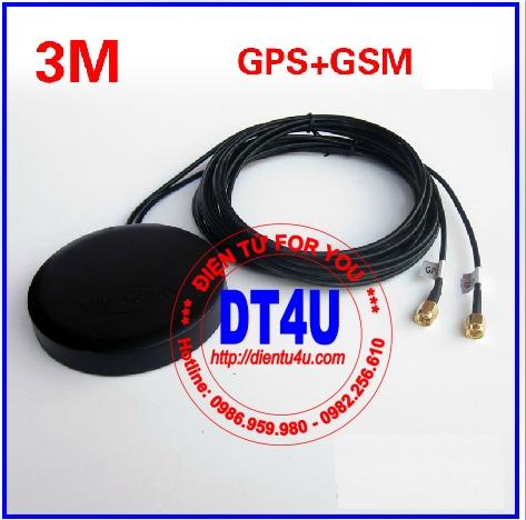 Anten kết hợp GPS+GSM