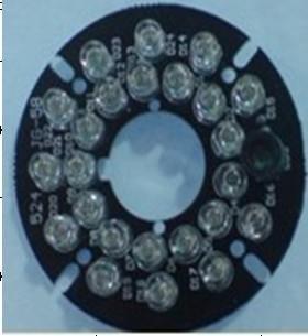 24 LED hồng ngoại 5mm Camera