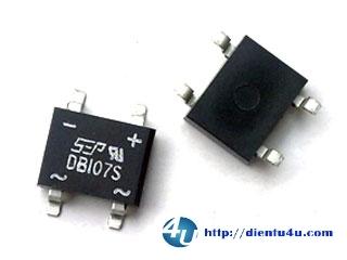 DB107S SOP4 1A 1000V