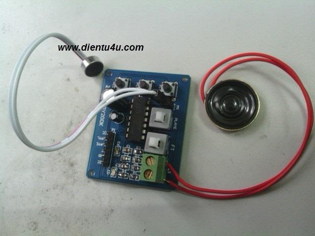 Module ghi âm ISD1820