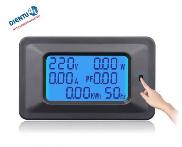 Đồng hồ volage-watt-ampe kế 100A
