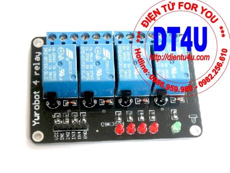 Module điều khiển 4 Relay 5V