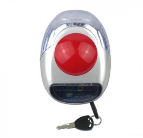Cụm đèn pha + khóa + Còi+ Báo dung lượng ắc quy 36V