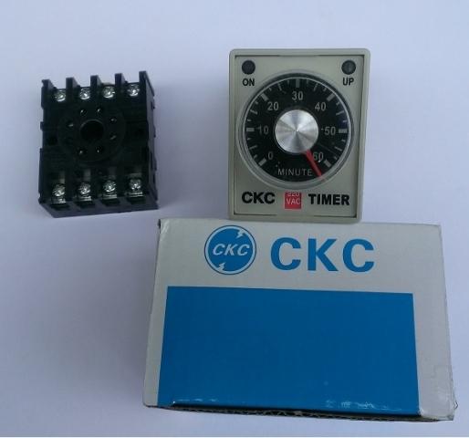 Bộ trễ thời gian CKC AH3-3 24VDC 60M