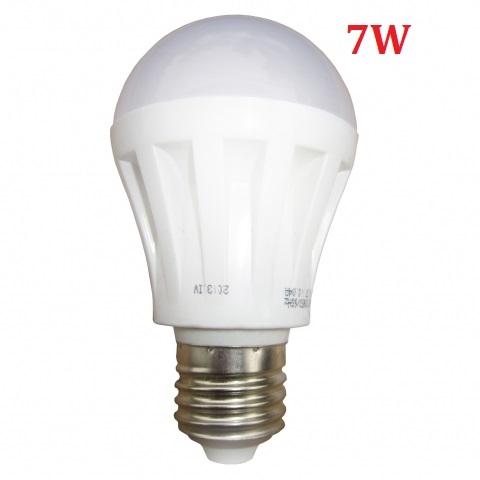 Đèn LED búp tròn 7W E27 sáng ấm