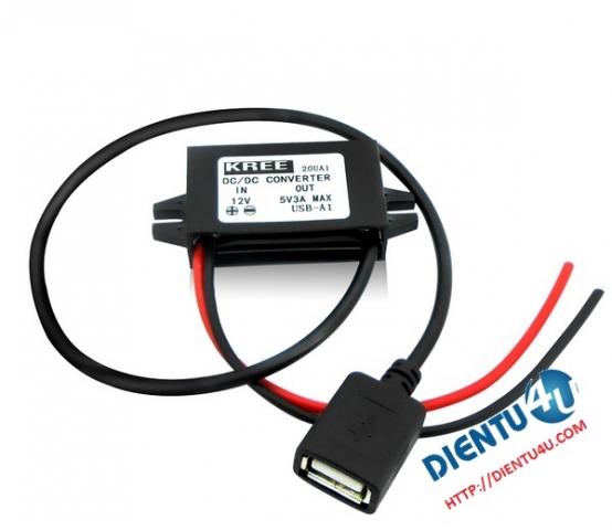 Nguồn hạ áp 5V USB A Femal