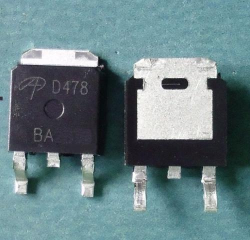 AOD478 N-CH MOSFET 11A 100V TO-252