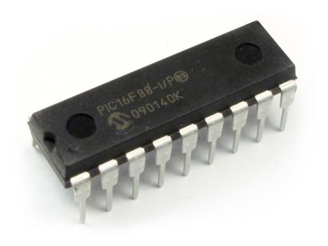 PIC16F88 - I/P DIP-18
