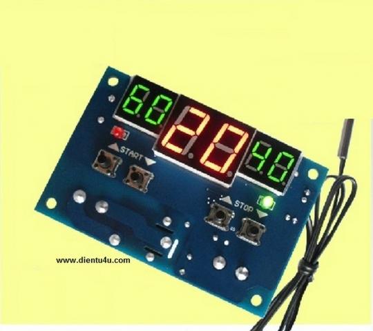 Module điều khiển thiết bị theo nhiệt độ D1401