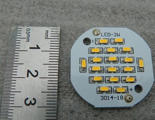 18 LED SMD 2W 56V