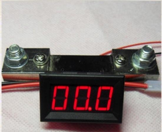 Ampe kế + shunt DC0-100A