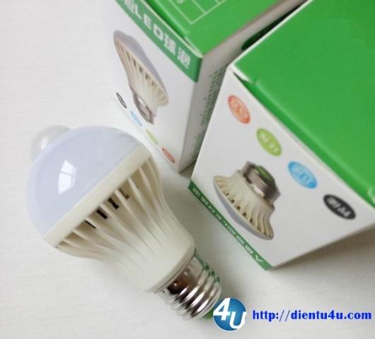 Đèn LED 7W cảm biến chuyển chuyển động