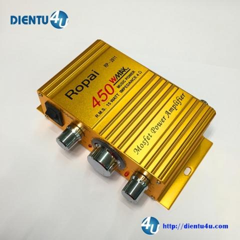 Âm Ly Hi-Fi 2 kênh 50W RP2011 12V