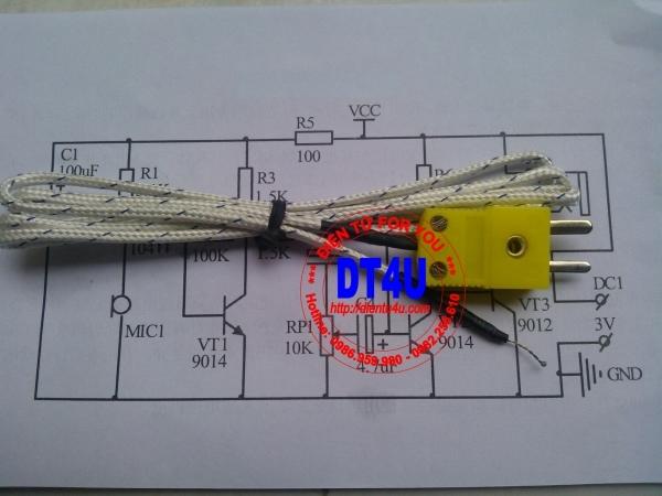 Đầu đo nhiệt độ TP-01