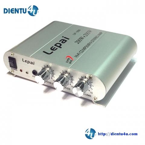 Âm Ly Hi-Fi 2 kênh 50W Headphone LP200 12V