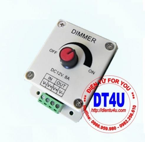 [Khuyến Mại] Dimmer PWM LED 12V 24V 8A