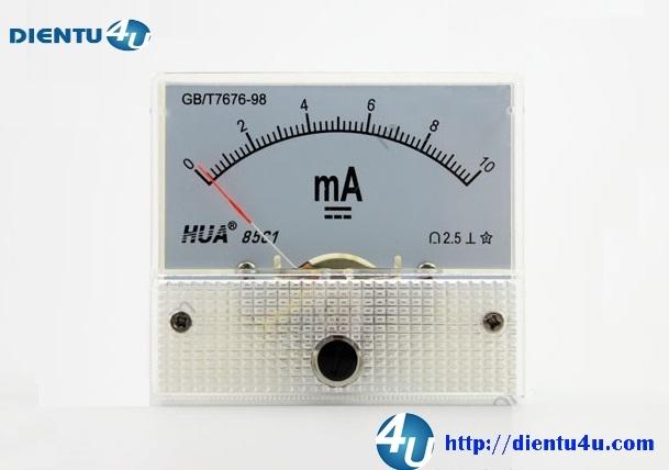 Ampe kế DC 85C1 10mA