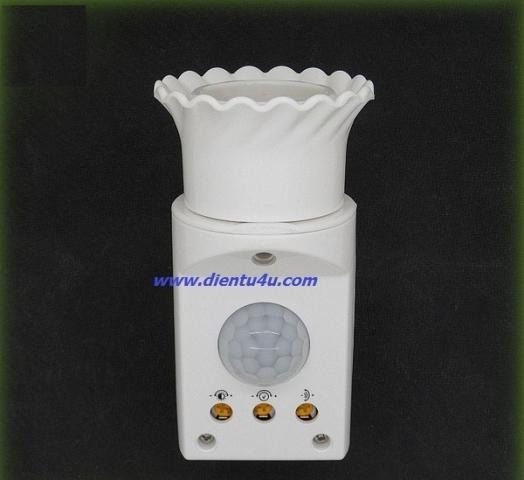 Đui đèn cảm biến hồng ngoại JL-020