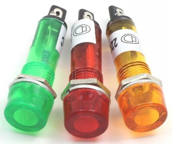 LED Báo XD10-3 12V đỏ