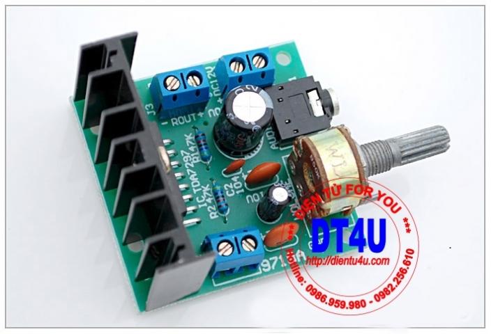 Module khuếch đại âm thanh TDA7297