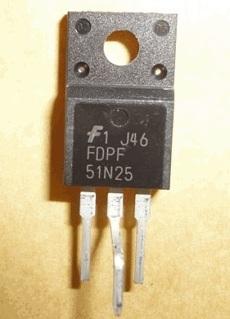 FDPF51N25 TO-220 (Tách máy)