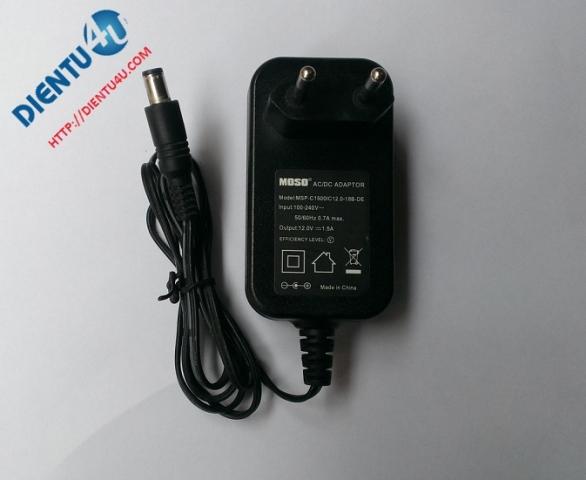 Adapter 12V 1.5A Rắc 6MM*3.5MM