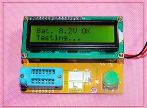 Máy kiểm tra linh kiện đa năng LCD-1602