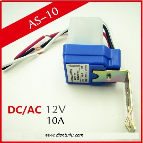 Cảm biến ánh sáng AS10 10A 12V