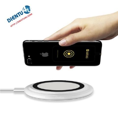Sạc không dây cho Iphone 6+ ,7 ,7+