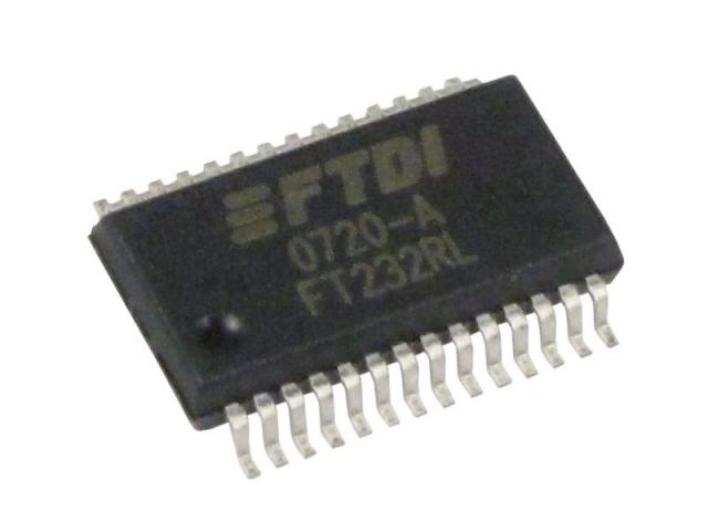 FT232RL SSOP28, Chân dán