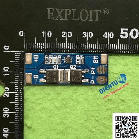 Mạch sạc và bảo vệ 2 pin lithium 8A