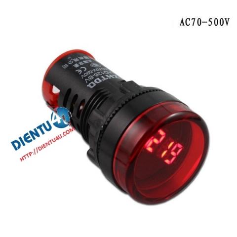 Vôn kế AC AD16 70V-500V