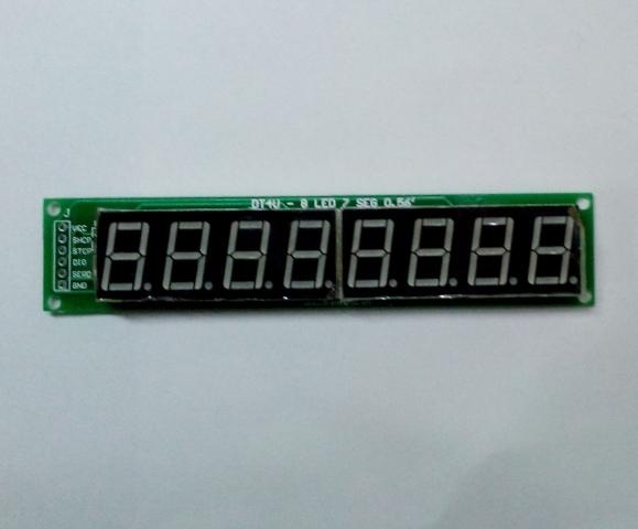 Module 8 LED 7 thanh 0.56 inch dùng 74HC595