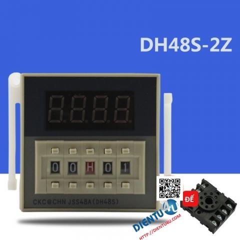 Relay thời gian DH48S-2Z AC220V