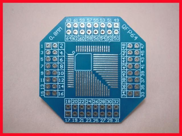PCB 32-64QFP
