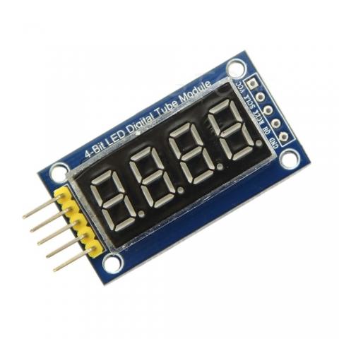 Module 4 LED 7 thanh 0.36 inch dùng 74HC595