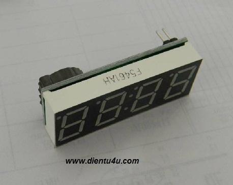 Module hiển thị nhiệt độ và thời gian