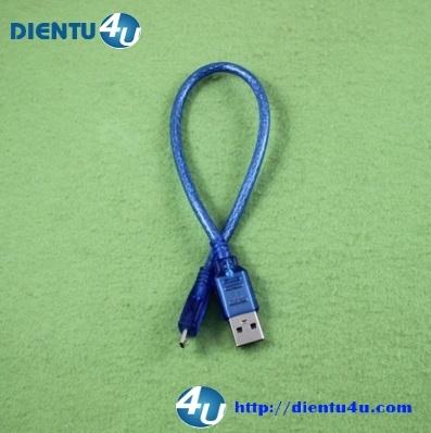 Cáp USB A đực - Micro USB 30CM