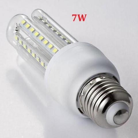 Đèn LED bắp ngô 7W 220V E27 sáng trắng