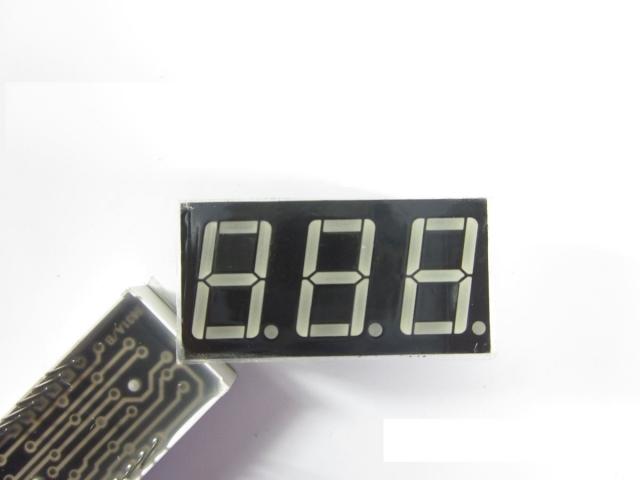 LED 7 thanh x3 0.56 inch cathode chung