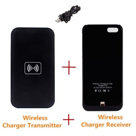 Sạc không dây Iphone5/5S 1000mA