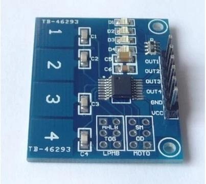 Module cảm ứng điện dung TTP224 4x1 kênh
