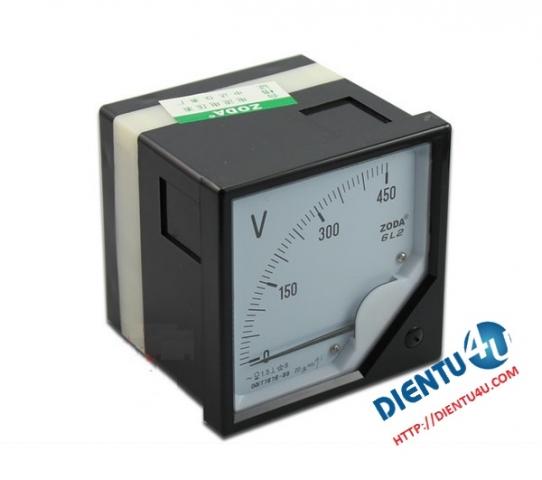 Vôn kế AC 6L2-V 450V