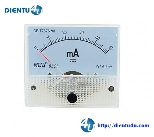 Ampe kế DC 85C1 50mA