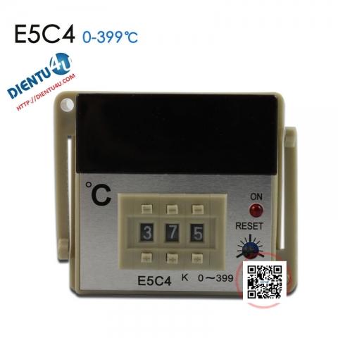 Thiết bị kiểm soát nhiệt độ E5C4-R20K 0-399°C