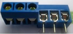 Mắt Jack KF301-3P 5.08mm
