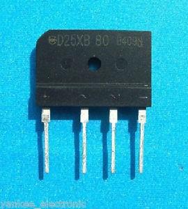Chỉnh lưu cầu D25XB80 25A 800V